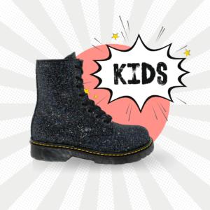 Bota Urbana Violeta Glitter Kids