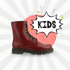 Bota Tipo Militar Cherry Kids