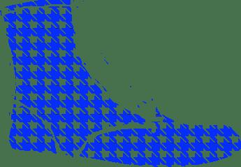 Hundstooth Azul