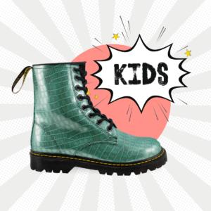 Bota Urbana De Charol Coconelle Menta Kids